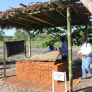 zero energy cool chamber (ZECC) demonstration at Horticulture Innovation Lab Regional Center at Zamorano - in Honduras