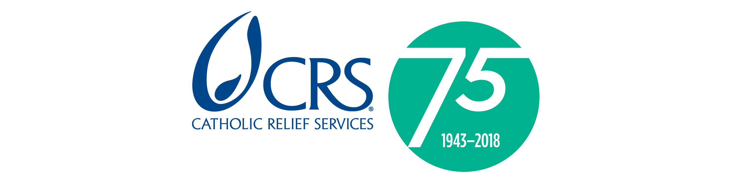 Catholic Relief Services- logo- 75 years