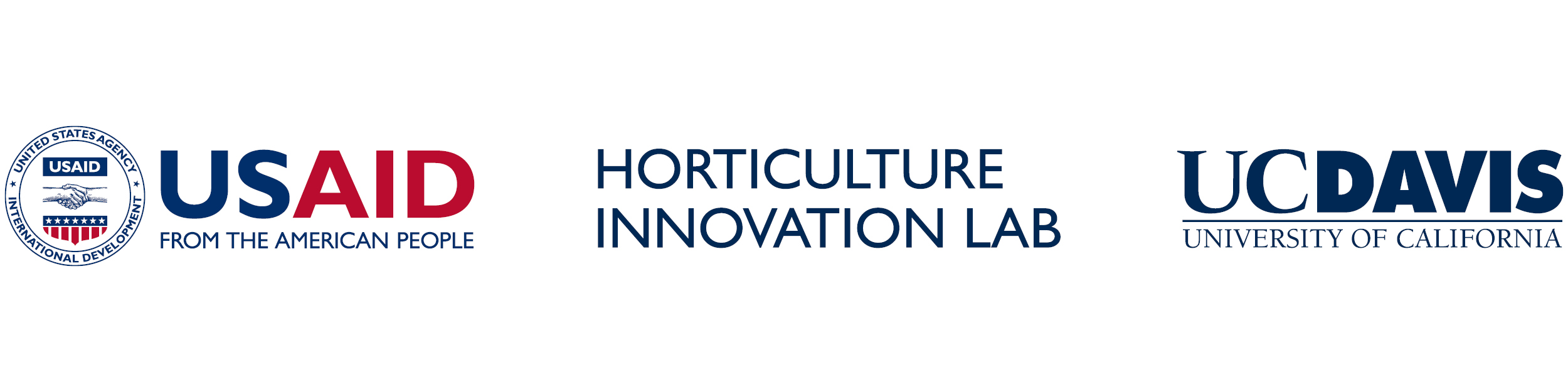 Horticulture Innovation Lab logo - USAID - UC Davis