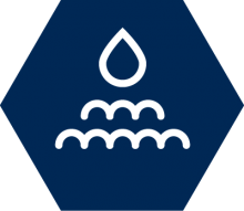 Soil and irrigation icon