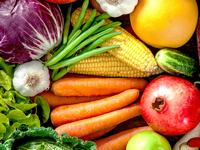 Fresh fruits and vegetables are critical for healthy diets