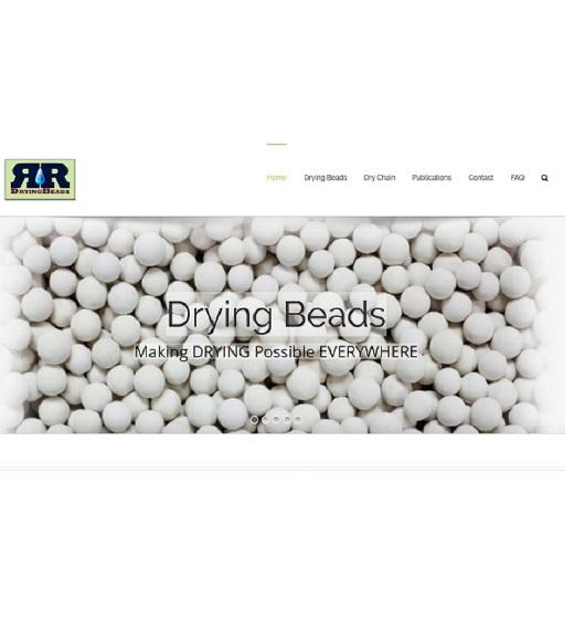 Drying Beads homepage