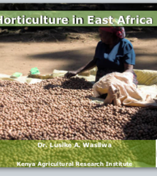 Horticulture in East Africa
