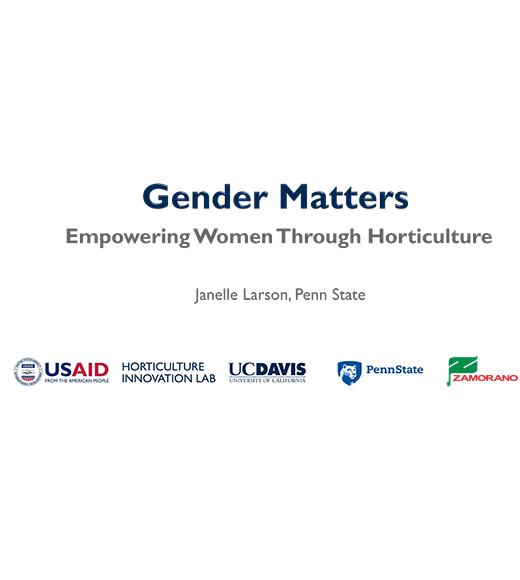 Gender Matters cover image