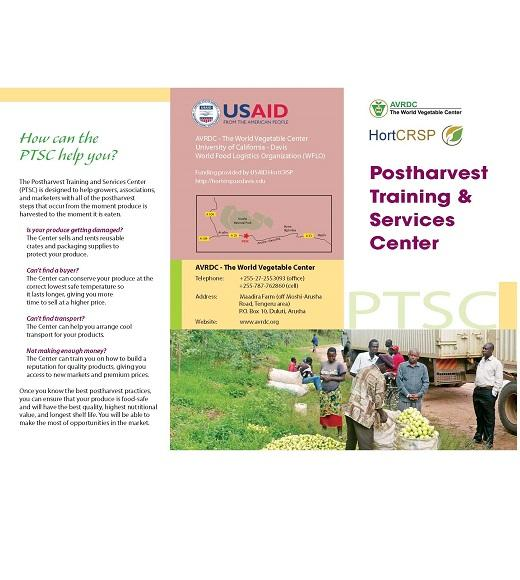 Postharvest Training & Services Center brochure