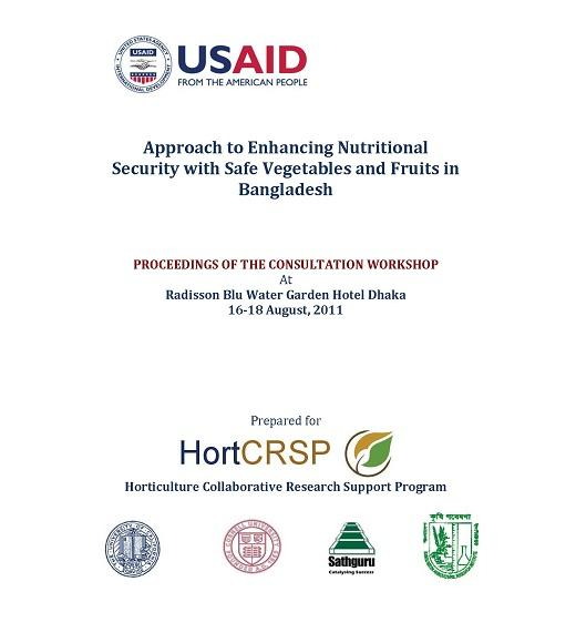 Proceedings of the consultation workshop on enhancing nutritional security with vegetables and fruits in Bangladesh