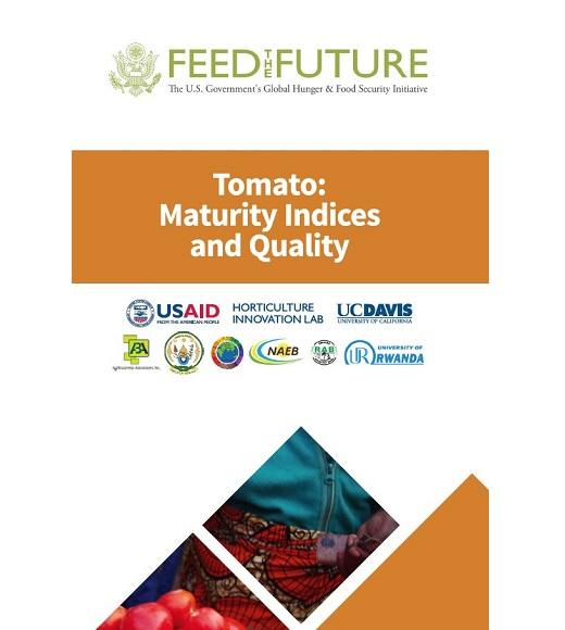 Tomato: maturity indices and quality
