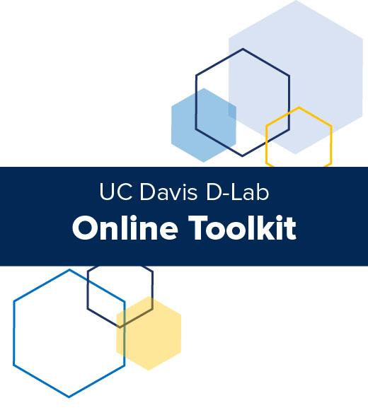 UC Davis D-Lab Online Toolkit graphic