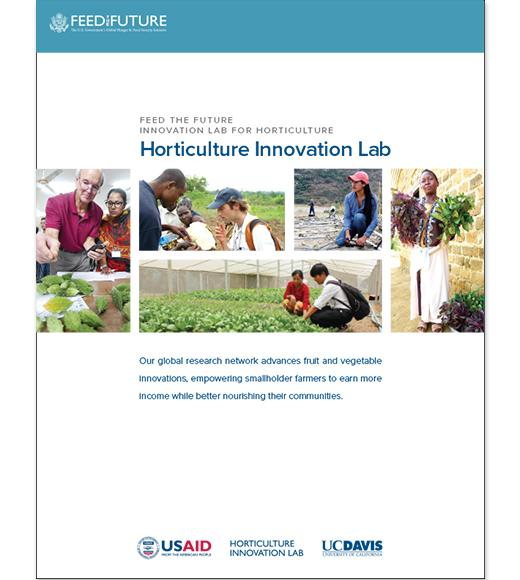 Horticulture Innovation Lab brochure cover