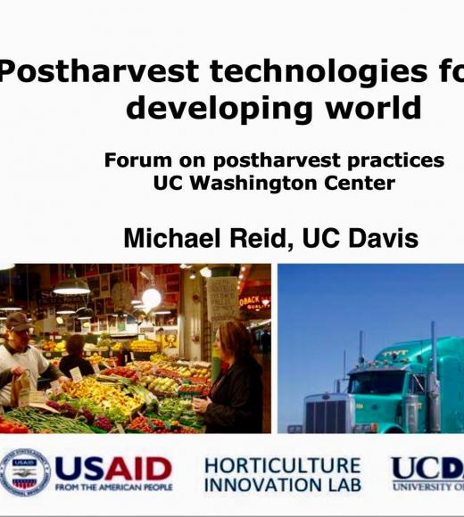 Postharvest Technologies for the Developing World
