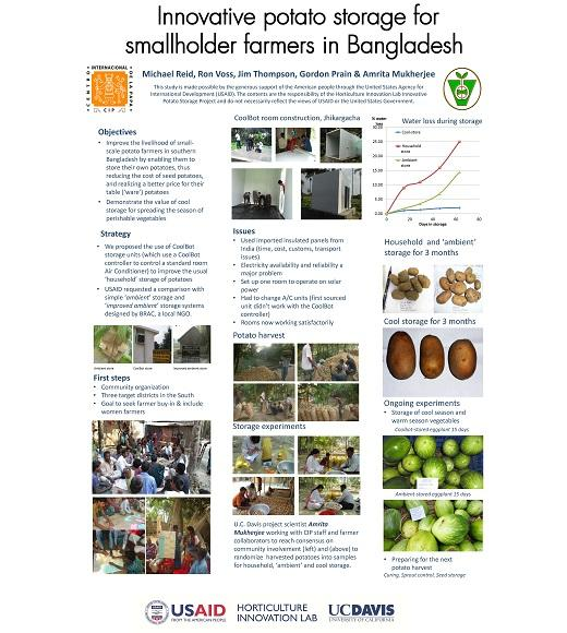 Poster: Innovative potato storage in Bangladesh