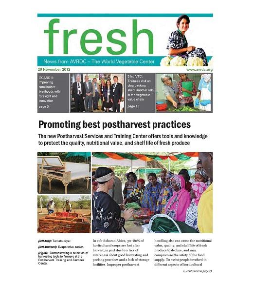 Promoting best practices World Veg article
