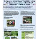 Indigenous African leafy vegetables for enhancing livelihood security of smallholder farmers in Kenya poster