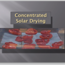 Concentrated Solar Drying powerpoint