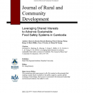 Journal article - leveraging shared interests to advance sustainable food safety systems in Cambodia