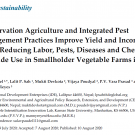 Sustainability CA IPM Journal Publication