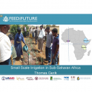 Feed the Future small scale irrigation in Sub-Saharan Africa - title slide