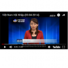 Photo: NetViet TV news from April 3, 2014