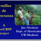 Seeds of Hope: Producing local, disease-resistant vegetable seed