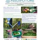 Fact sheet from preharvest fact sheet collection with English and Kinyarwanda and pictures of postharvest tools in action