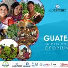 Six photos of Guatemalans, most working in agriculture, title slide