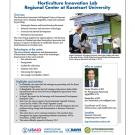 Horticulture Innovation Lab Regional Center at Kasetsart University - fact sheet