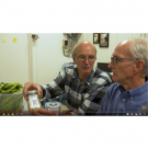 Michael Reid and Jim Thompson of UC Davis discuss the DryCard, still from a video