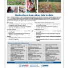 Fact sheet: Horticulture Innovation Lab projects and partners in Asia