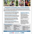 fact sheet: Horticulture Innovation Lab projects and partners in Central America