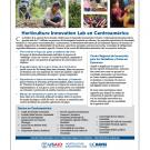 Fact sheet - Horticulture Innovation Lab en Centroamérica (Español)