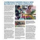fact sheet - Cambodian farmers reach new buyers with fresh approach