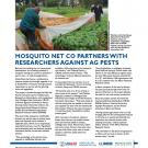fact sheet- Mosquito net co partners with researchers against ag pests