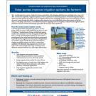 Fact sheet - Solar pumps improve irrigation options