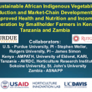 Research on African indigenous vegetables