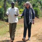 Kate Scow, soil science professor at UC Davis, met with farmers and research partners in Uganda recently to begin a newly funded project focused on small-scale irrigation for vegetable growers.